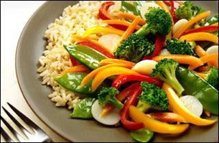 Comida de dieta rica y facil